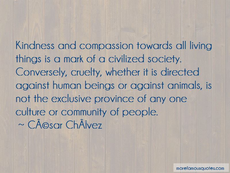 Quotes About Kindness Towards Animals