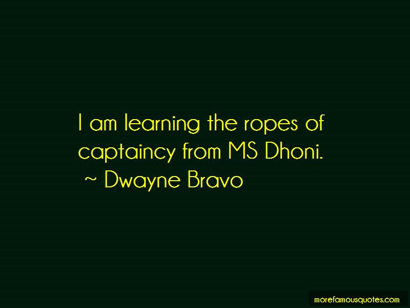 Quotes About Learning The Ropes