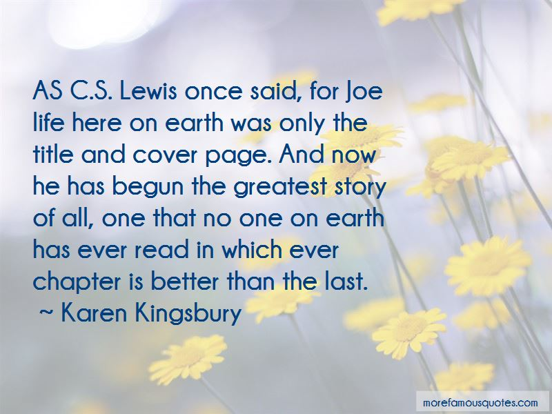 Quotes About Life By Cs Lewis