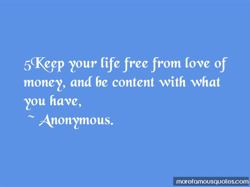 Quotes About Life Free