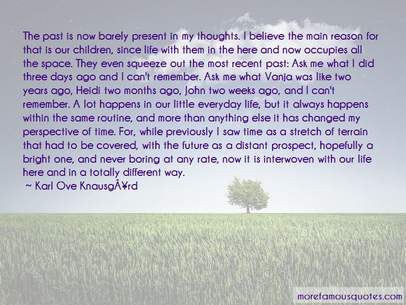 Quotes About Life Past Present Future