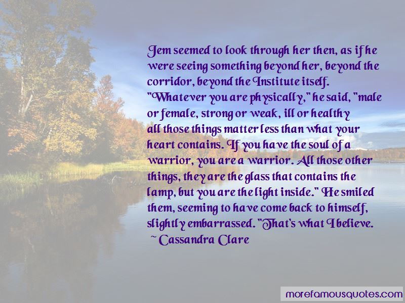 Quotes About Light Through Glass