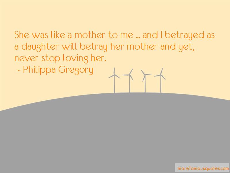 Quotes About Like A Mother To Me