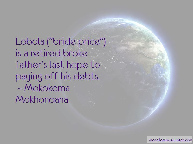 Quotes About Lobola