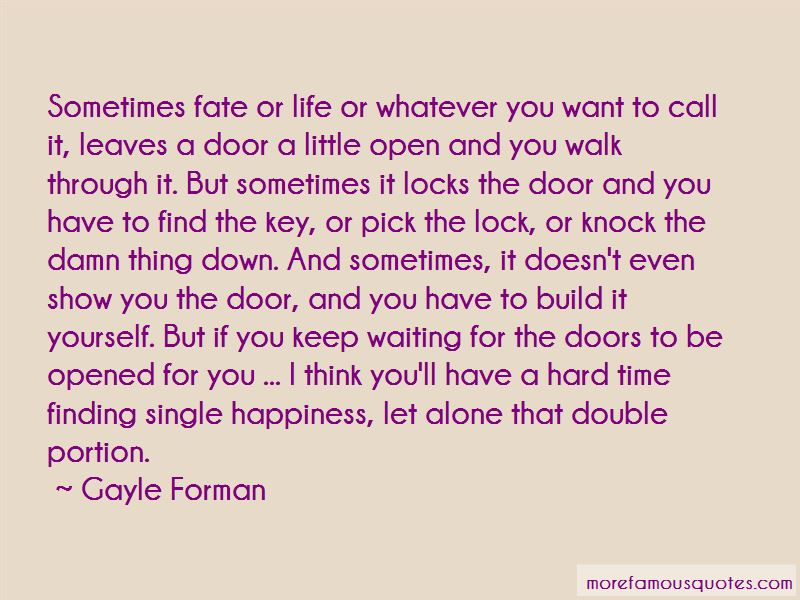 Locks And Doors Quotes Pictures 2