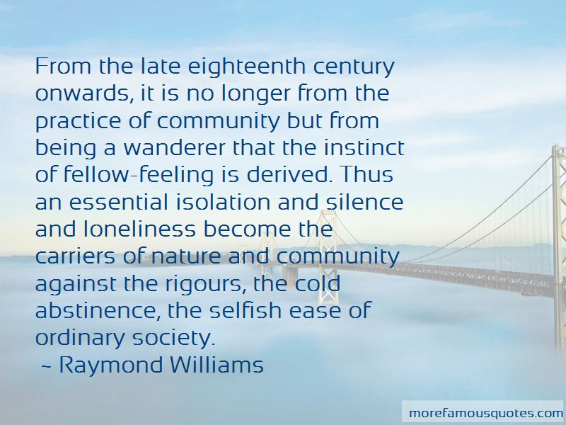 Quotes About Loneliness And Nature