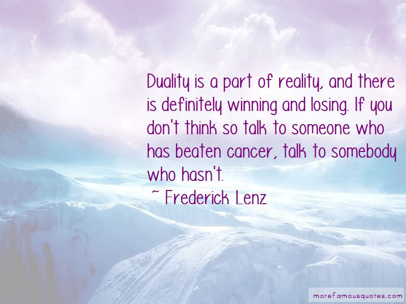 Quotes About Losing Someone From Cancer