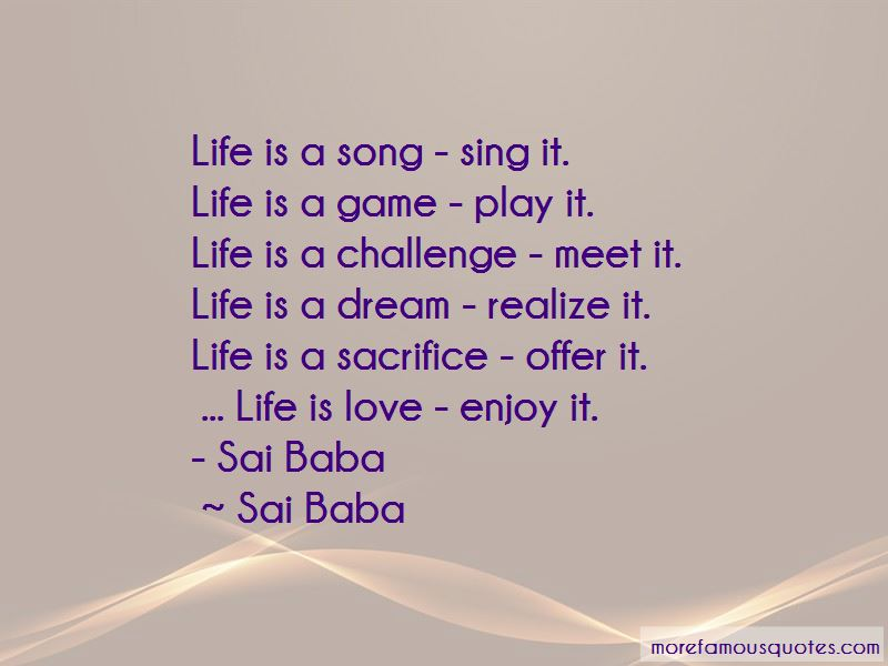 Quotes About Love By Sai Baba: top 1 Love By Sai Baba quotes