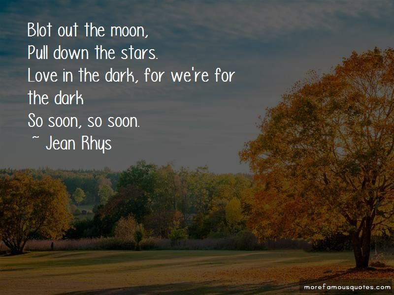 Quotes About Love In The Dark