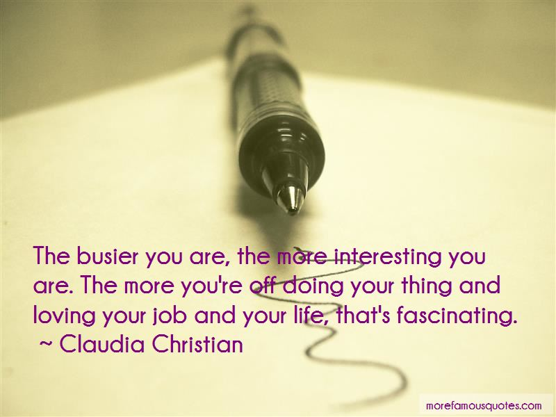 Quotes About Loving Your Job