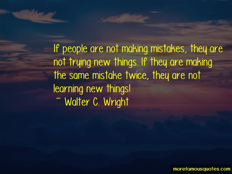 Quotes about making mistakes