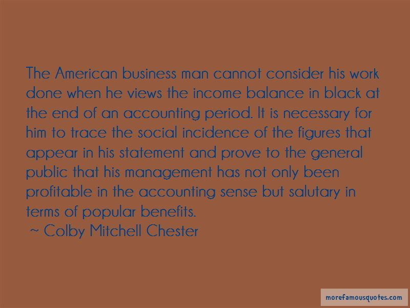 Quotes About Management Accounting