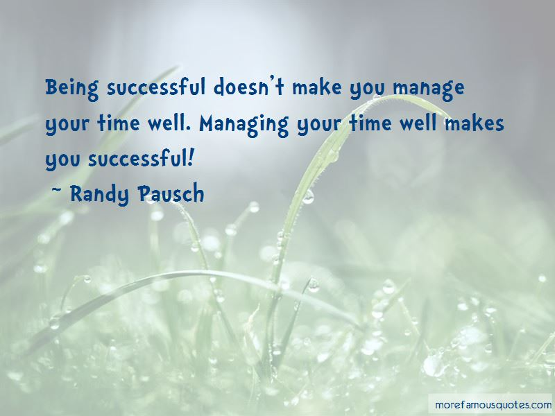 Quotes About Managing Your Time