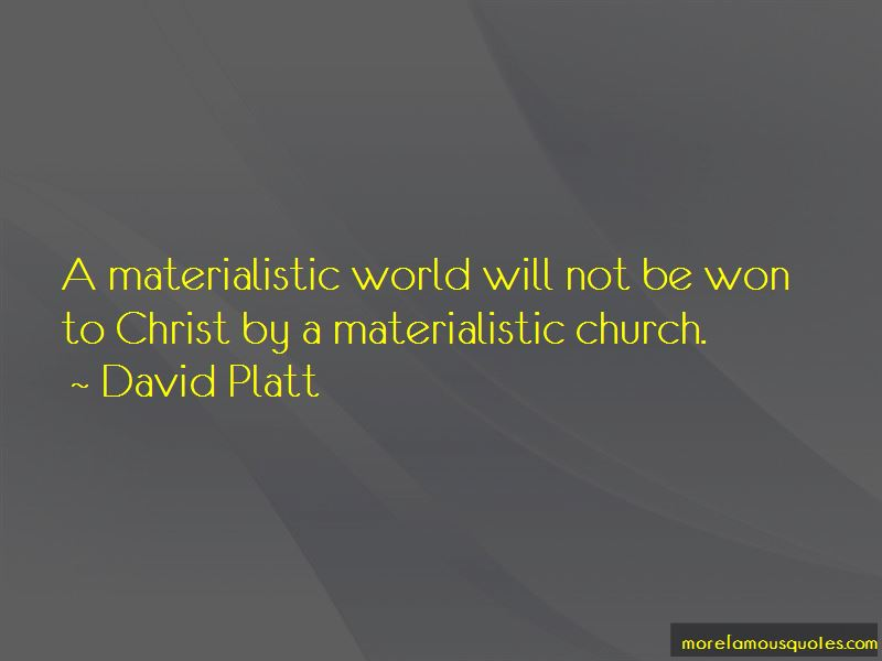 Materialistic World Quotes Pictures 4
