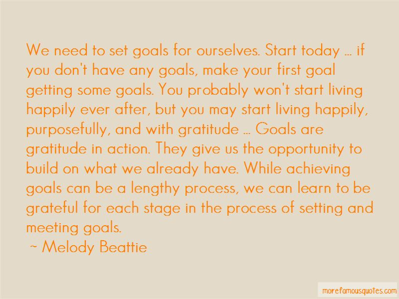 Meeting Goals Quotes Pictures 2
