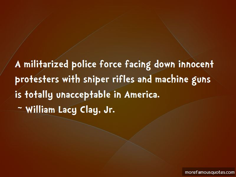Quotes About Militarized Police