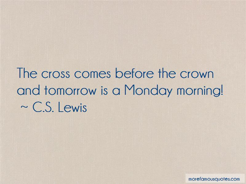 Quotes About Monday Tomorrow