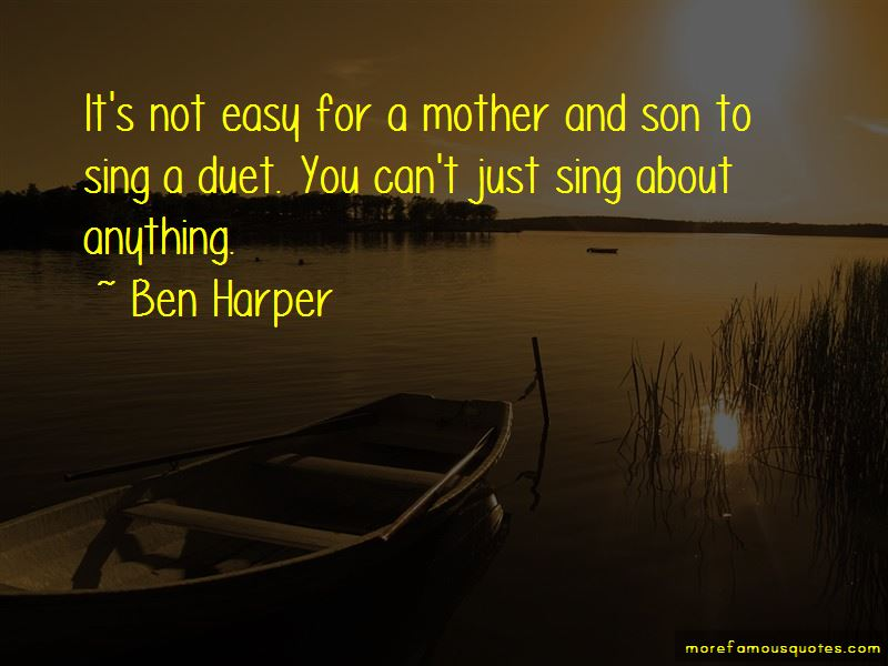 Quotes About Mother And Son