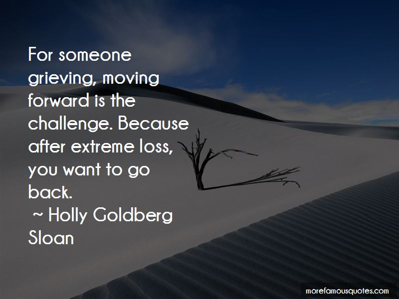 Quotes About Moving Forward After Loss