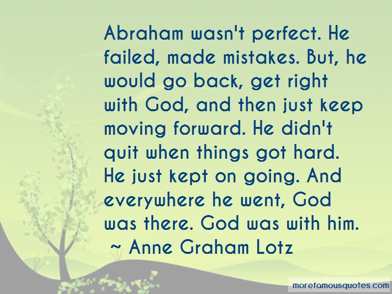 Quotes About Moving Forward With God