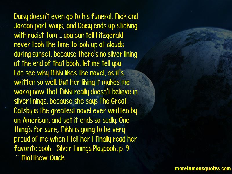 Quotes About Nick Great Gatsby