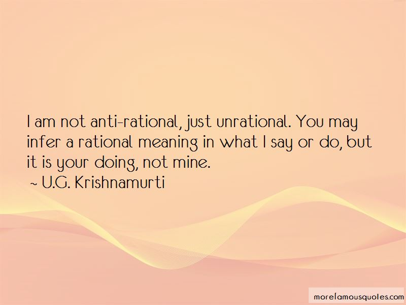 Quotes About Not Meaning What You Say