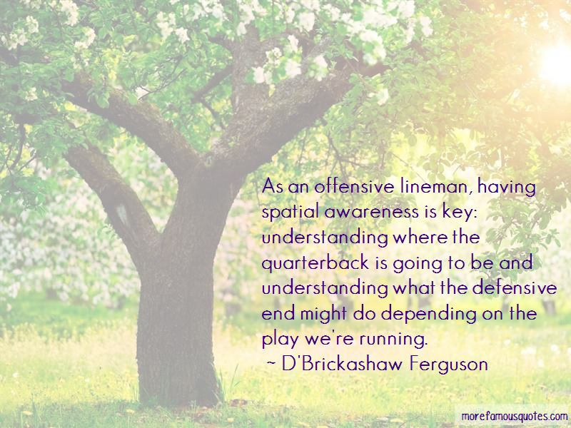 Quotes About Offensive Lineman