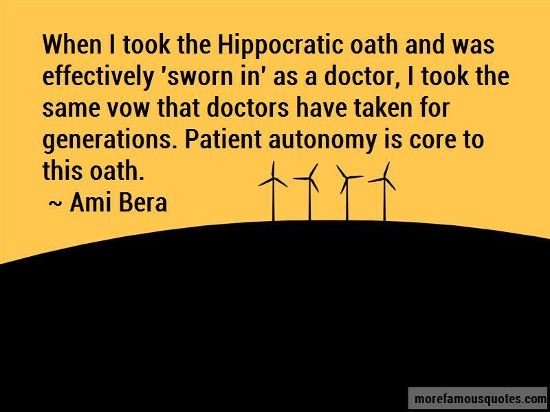 Quotes About Patient Autonomy
