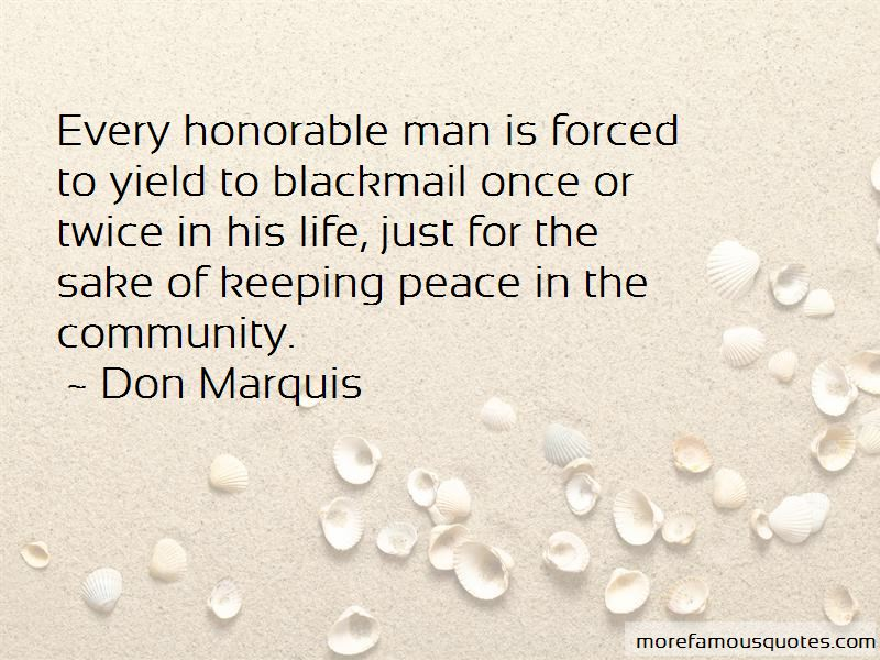 Quotes About Peace In The Community