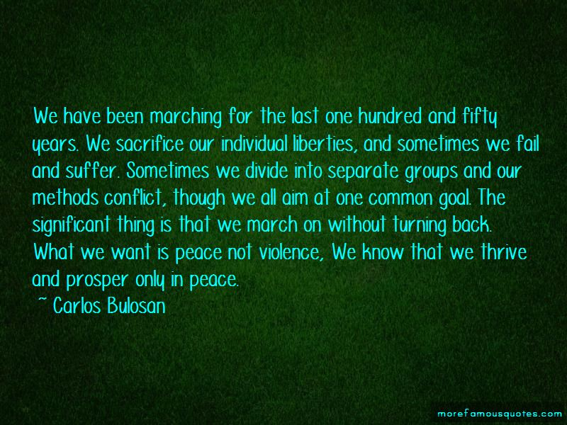 Quotes About Peace Not Violence