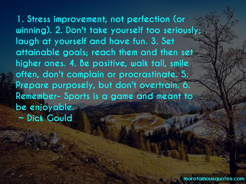 Quotes About Perfection In Sports