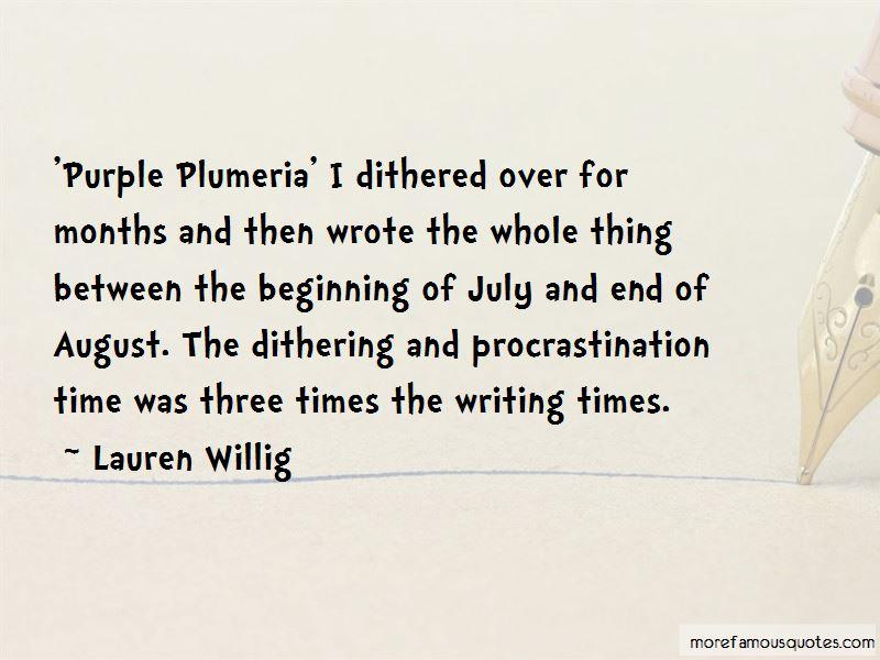 Quotes About Plumeria