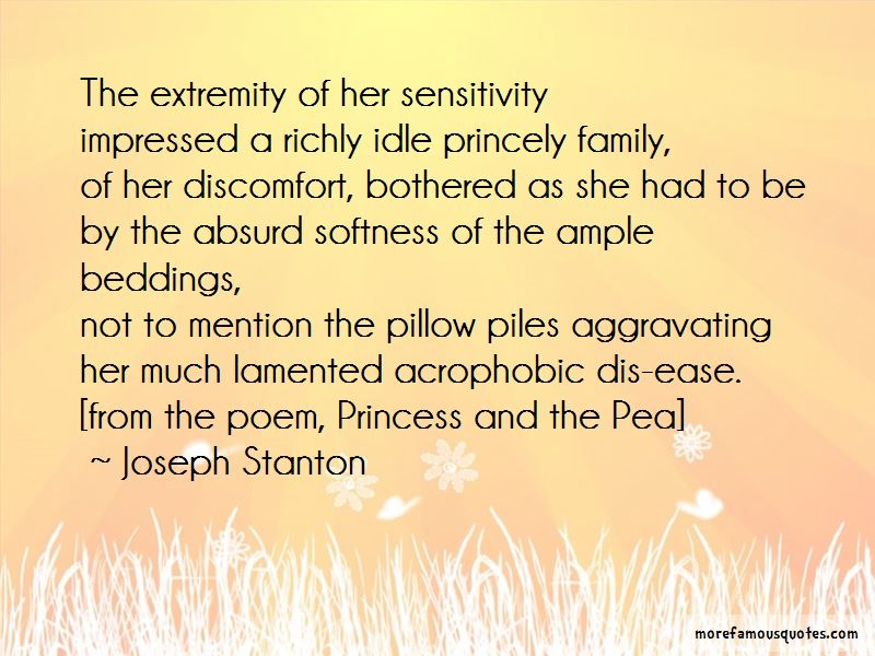 Quotes About Princess And The Pea