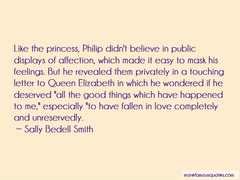 Quotes About Public Displays Of Affection