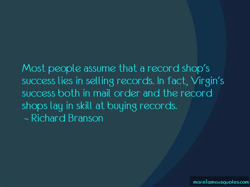 Quotes About Record Shops