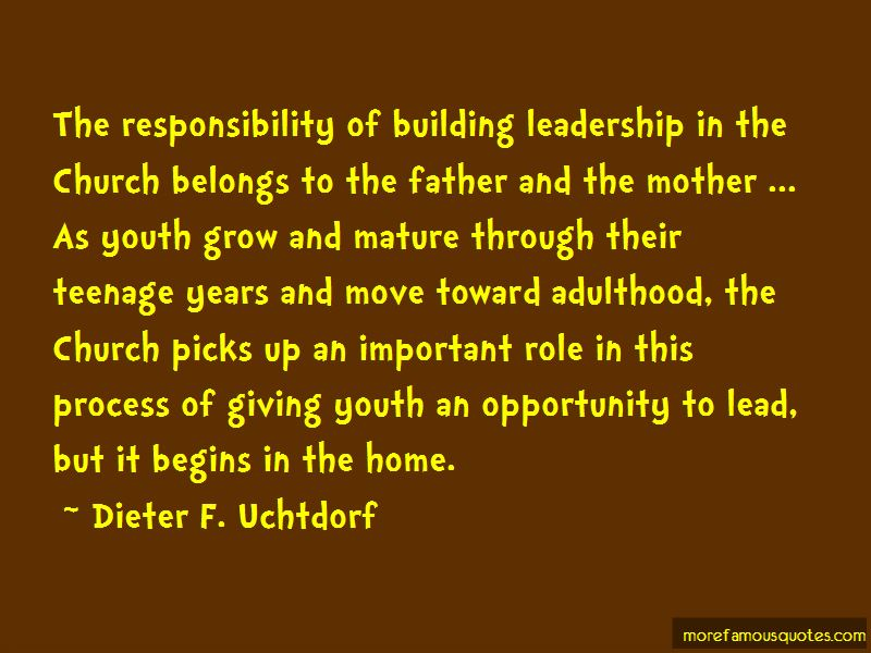Responsibility And Adulthood Quotes Pictures 3