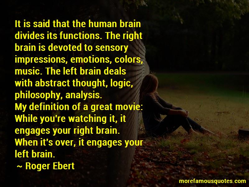 Quotes About Right And Left Brain
