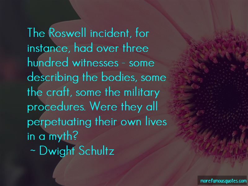 Quotes About Roswell Incident