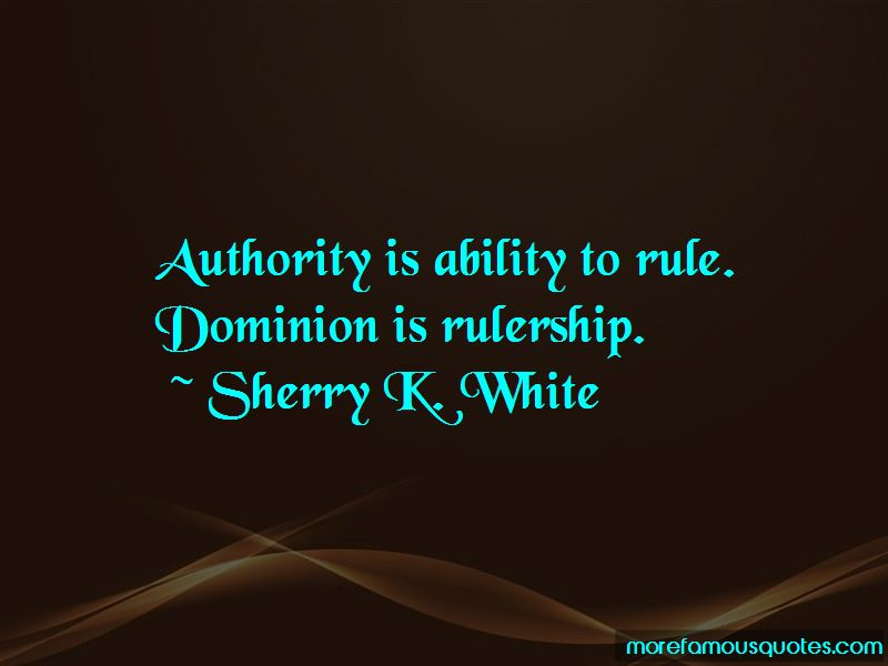 Quotes About Rulership