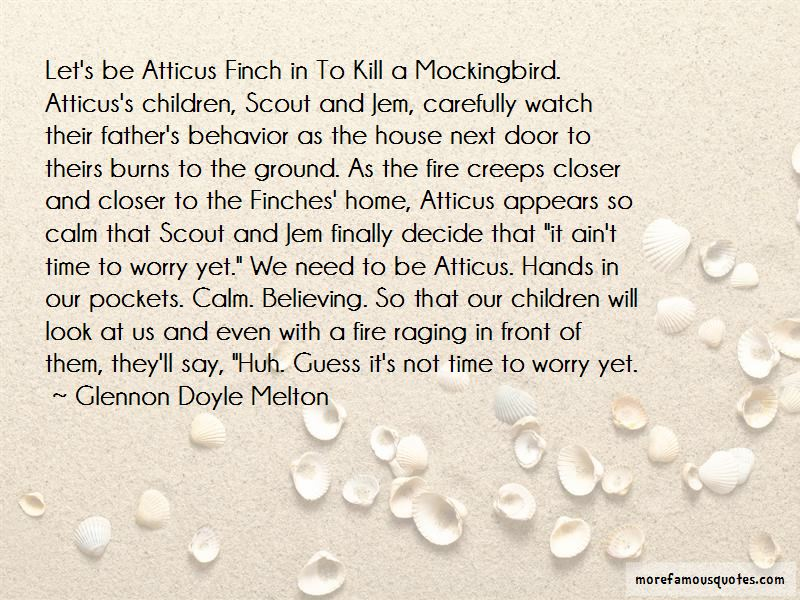 Quotes About Scout From To Kill A Mockingbird