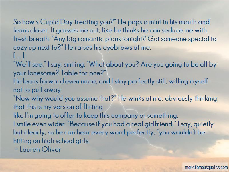 Quotes About Smiling Because Of Someone