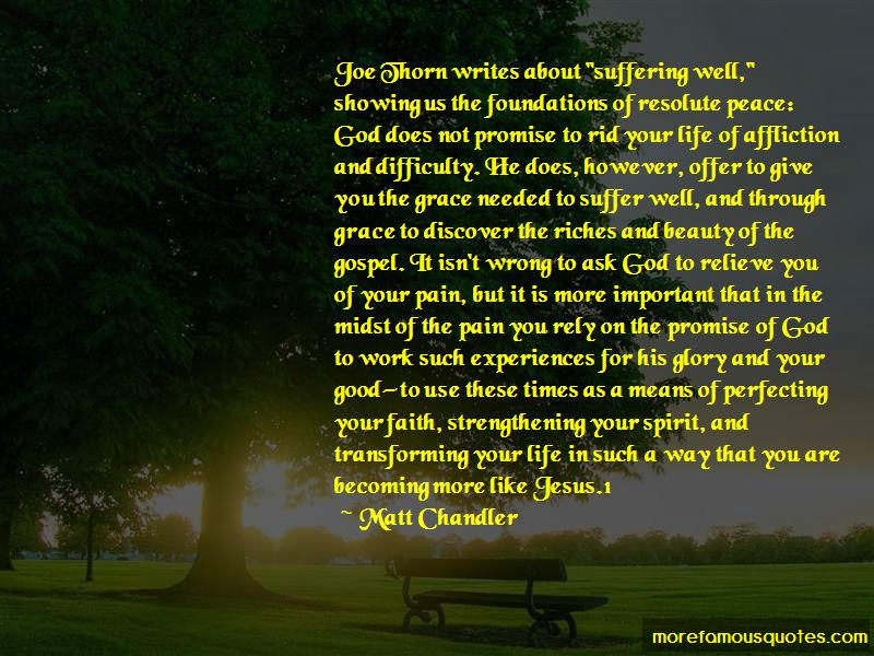 Quotes About Strengthening Your Faith In God