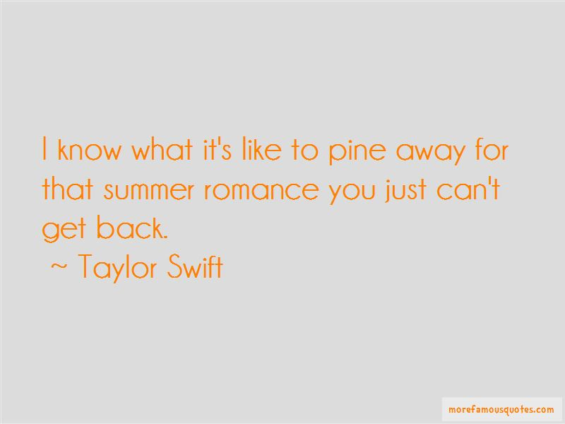 Summer Romance Quotes Pictures 3