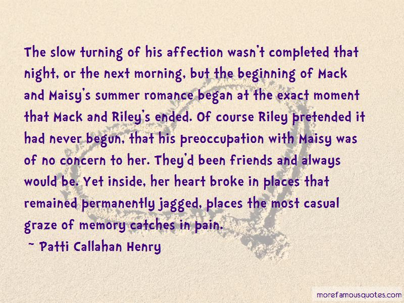 Quotes About Summer Romance