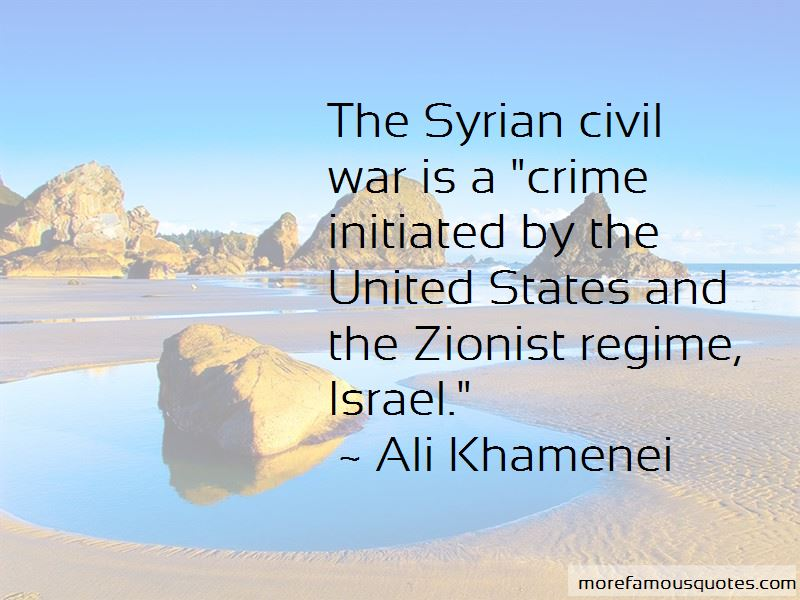 Quotes About Syrian Civil War