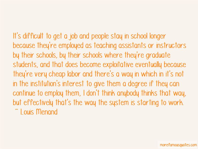 Quotes About Teaching Assistants