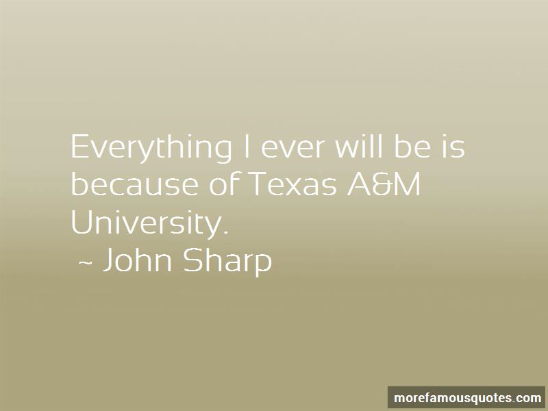 Quotes About Texas A&m University