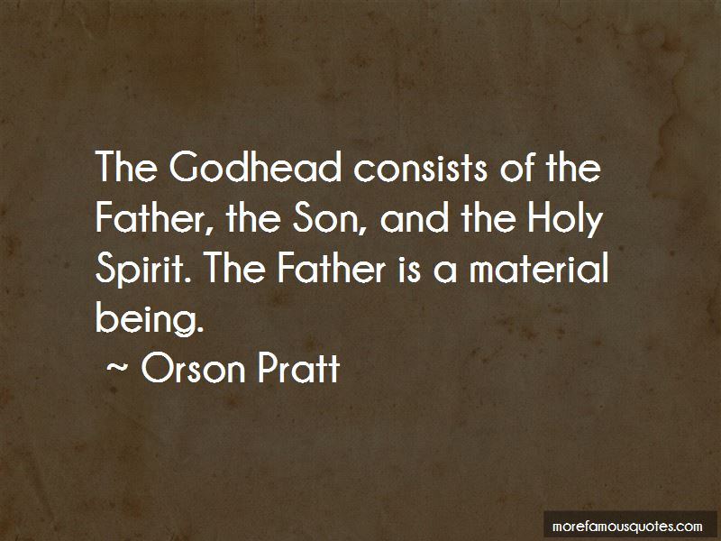 Quotes About The Godhead