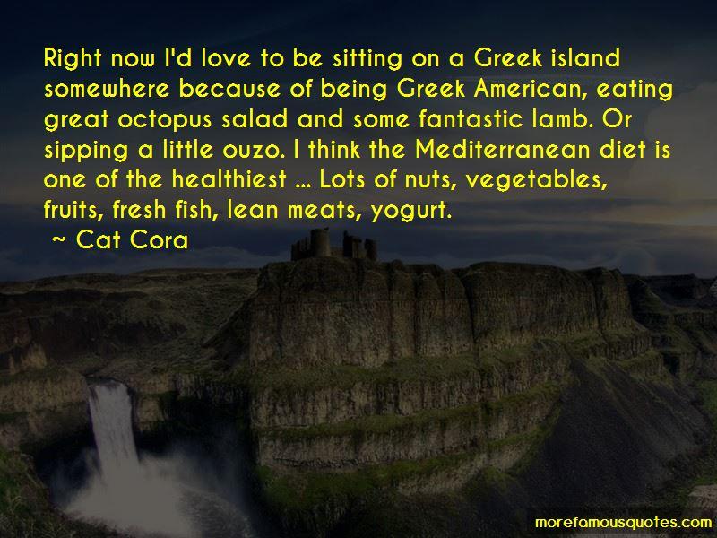 Quotes About The Mediterranean Diet