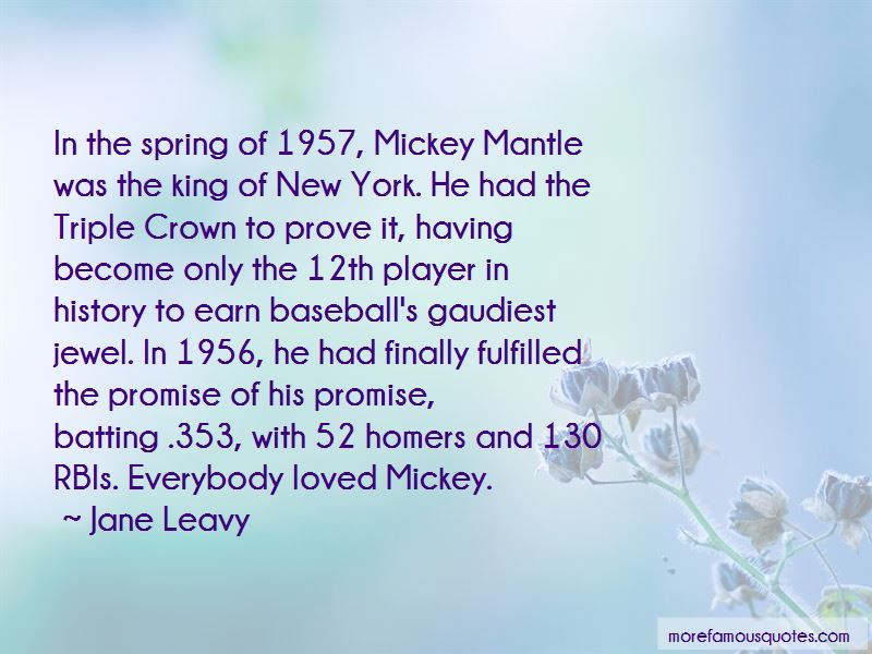 Quotes About The Triple Crown